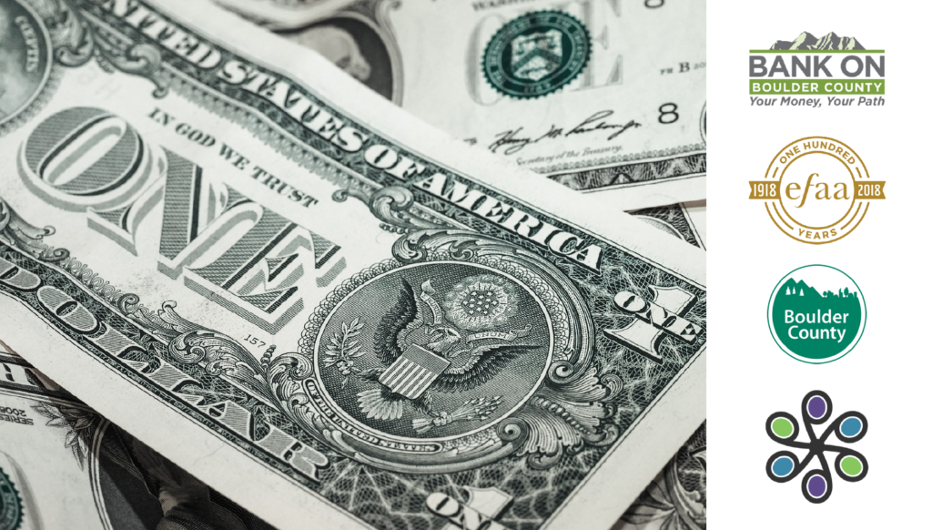 a picture of a US dollar is accompanied by four logos from the resources below